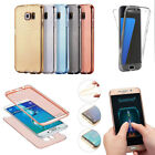 For Samsung Galaxy S10 E S8 Note8 Shockproof 360 Silicone Clear Case Cover