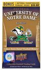 2013 Upper Deck University of Notre Dame Football 10-Pack 20-Box Case