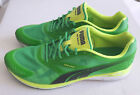 Puma Bioweb Speed Web Cage Green Black Running Shoes Mens Shoe Size 9