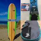 70 Hotsurf69 Learners softboard mini mal PACKAGE inc Boardbag Leash Fin Wax