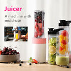 600ml Portable Electric Juicer Blender Fruit Smoothie Maker Mixer Shaker Bottle