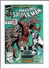 THE AMAZING SPIDER MAN 344  FN VF 1ST CLETUS KASADY CARNAGE 1990 MARVEL