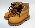 Timberland Baby Boys Toddler Kids US Size 4 6 Premium Waterproof Leather Boots
