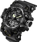 Sanda Men's Digital Wrist Watches Military Sports Electronic Quartz Outdoor Army