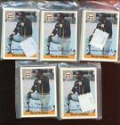 Five Willie Stargell Monte Irvin Autographed Front Row Sets (5) MINT COA