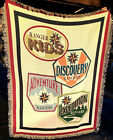 Royal Rangers cotton blanket KIDS DISCOVERY ADVENTURE EXPEDITION made in USA