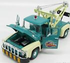 Welly Diecast Model 1956 Ford F 100 Green Tow Truck 118 Scale