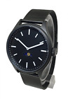 Bauhaus Sky Moonphase Watch - BLACK Steel modern design moon age time