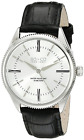 SO&CO New York Men's 5023.2 Madison Quartz Black Leather Strap Watch