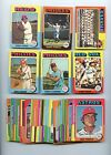 LOT OF 56 DIFFERENT 1975 TOPPS MINI BASEBALL CARDS EX+ NM CONDITION NICE