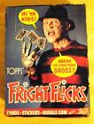 1988 Topps FRIGHT FLICKS Horror Movies Trading Card full box sealed packages NOS
