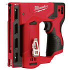 Milwaukee 2447 20 M12 Li Ion 3 18 in Cordless Crown Stapler Tool Only New