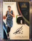 2016 17 Immaculate Ricky Rubio Acetate Patch Auto Jersey Number 9 9 1 1 SICK