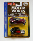 Maisto Motor Works 2 Car Pack '34 1934 Ford Hot Rod 1/64 Scale DieCast Prowler