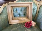 Fabulous Antique wood shadow box Frame chippy pain architectural