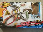 Team Hot Wheels TCR Total Control Racing Supercharged Stunt Park race Track
