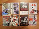 (8) DENVER BRONCOS AUTO JERSEY PATCH RC LOT Shannon Sharpe Paxton Lynch Talib