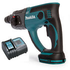 NEW-MAKITA DHR202 LXT 18V SDS HAMMER DRILL BODY 3 FUNCTION SDS + CHARGER DC18SD