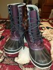 Womens sorel snow boots size 8