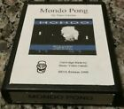 ATARI 2600 Mondo Pong 1998 Rare HOZER Homebrew Video Game Cartridge Piero Cavina