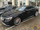 22 FOR MERCEDES BENZ S63 S CLASS COUPE STAGGERED CONCAVE WHEELS RIMS