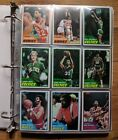 1981-82 Topps Basketball Complete Set (198) In Binder - Bird, Magic, McHale RC