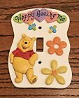 Adorable Disney Winnie The Pooh Ceramic Light Switch Plate Cover Single