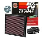 K&N Replacement Air Filter 11-18 Jeep Grand Cherokee / Durango 3.6L V6 / 5.7L V8