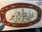 NIB FITZ AND FLOYD ST. NICK SENTIMENT TRAY, CANDY DISH