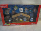 NEW Fisher Price Little People Childrens Nativity Play Set Mary Joseph Jesus +