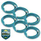 6pc 6 Braided Airbrush Air Hose 1 8 to 1 8 BSP Adaptor Fits Most Brands