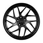 20 VERTINI RF14 FORGED 20X9 BLACK CONCAVE WHEELS RIMS FITS AUDI B8 A4 S4