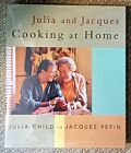 Julia and Jacques Cooking at Home by Julia Child Jacques Pepin SIGNED 1st ed