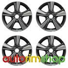 Acura ILX 2013 2015 17 Factory OEM Wheels Rims Set Machined with Charcoal