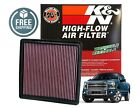 33-2385 K&N Drop In Performance Replacement Air Filter 2009-2018 Ford F150