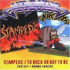 KROKUS - STAMPEDE/TO ROCK OR NOT TO BE 2 CD NEW+