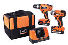 AEG 18V Li-ion Combi Drill & Impact Driver Twin Pack inc 2 Batts!  *BRAND NEW*