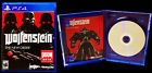 Wolfenstein • The New Order • Sony PlayStation 4 War Shooter Video Game Complete