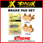 Pro-X 304302 Kymco 125 HIPSTER 1999-2006 Sintered Front Brake Pad