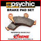 Psychic 63.MC-05553F KTM 620 DUKE 1996-1998 Full Metal Rear Brake Pad