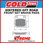Goldfren Suzuki TS250X 84-89 Sintered Off Road Front Brake Pads GF007K5