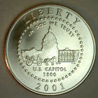 2001 US Capitol Visitor Center BU Half Dollar US Mint Commemorative Coin ONLY
