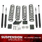 3 Front 3 Rear Lift Kit For 2007 2018 Jeep Wrangler JK Coil Springs Shocks