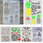 DIY Craft Layering Stencils Template For Walls Painting Scrapbooking Stamping CC