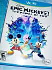 Nintendo Wii U Epic Mickey 2: The Power of Two Disney 2012 Co-Op Adventure