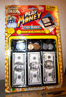 Play Money cash drawer, with 60 bills and 30 coins, fun for kids 4 and older