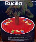 Bucilla CHRISTMAS ANGELS Felt Nativity Tree Skirt Kit Vintage Sterilized 48772