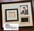 JOHN F. KENNEDY * JSA COA * Authentic JFK AUTOGRAPH Signed Display * 1960