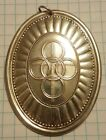 1975 Five Golden Rings Towle Sterling Silver 12 Days Christmas Ornament Pendant
