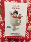 HALLMARK 2017 LOOK AT FROSTY GO CHRISTMAS  ORNAMENT THE SNOWMAN NEW